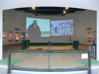 記念館では松中選手が育った八代の街を私的に紹介