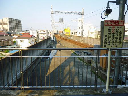 線路を引く敷地はあるが、この駅が今後拡張することはあるだろうか