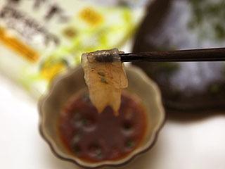 ふぐ刺しの味って、ほぼポン酢の味だよね。