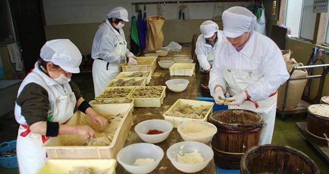 イワシやサバなどの生魚を、糠漬けにする食文化に触れてきました。