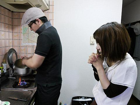 プロは湯せんをせず火に直接かけていたけれど、素人がやるとスクランブルエッグになるらしい