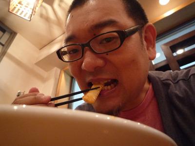 イカもいた。海鮮もあるのがさすが香港(仮)。
