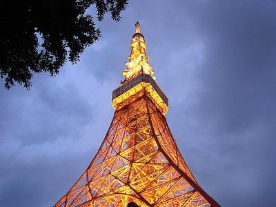 東京タワーである