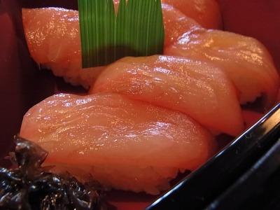 島で最初に食べたのは、島寿司という名産品