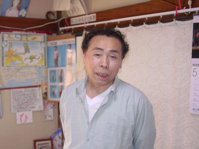 ほい、この人が今回紹介します発明家・高橋宏三(ひろみ)さん