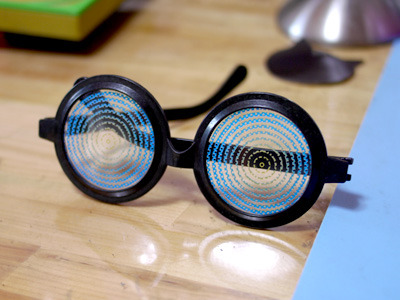 現在はまだ開発中……グリグリメガネ買って来ただけじゃん!