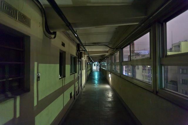 「ザ・廊下」って感じの廊下。
