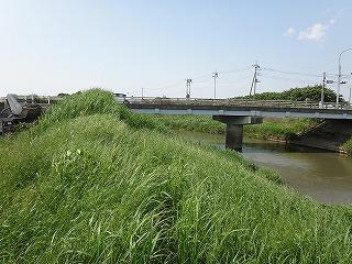 この野通川をくぐり、