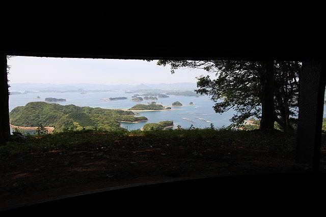 そして観測所内部から見た景色が美しすぎて感動。