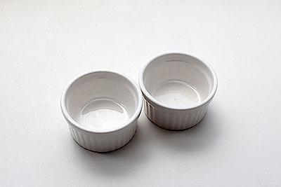 ココットはソースやジャムを入れたり小鉢として使ったり。