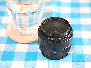 EF50mm F1.8 IIは良いレンズですよ。