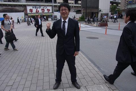 市議会議員のプロフィール写真みたいになった