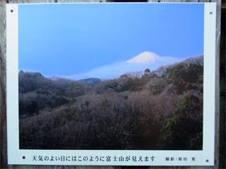 天気が良ければ富士山が見えるらしい。残念ながらこの時は見えず。