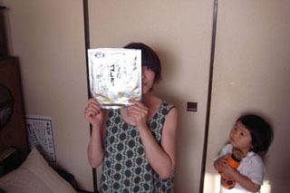 土屋さんの推す海苔は「佐賀のはしり」5枚で1550円。高っ!