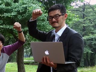 井田「下り通信速度が最大75Mbps 絶賛申し込み受付中ダヨ!」
