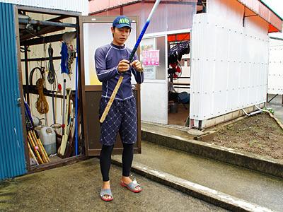 最年少むつかけ師の池田さん。新たな後継者が現れるまで、ずっとずっと最年少。