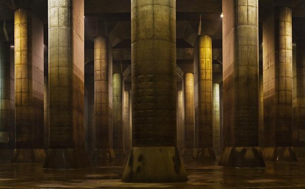 ずるいぐらいかっこいい首都圏外各放水路(「500トンの柱が59本!</a>」)