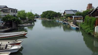 というわけでやってきましたよ柳川。なるほど、噂にたがわずきれいな街並みだ。
