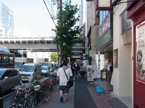 大崎広小路駅に到着