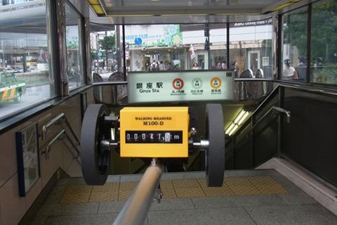 銀座駅の出入口まで驚異の41メートル