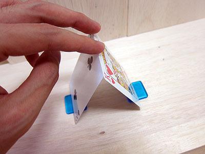 カードを設置。
