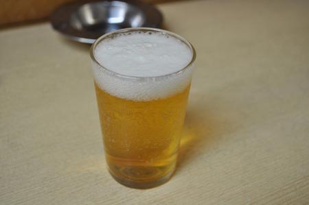 カステラは日本酒だな!ってビールから変えたのに、日本酒の写真撮り忘れてたから、ビールの写真。