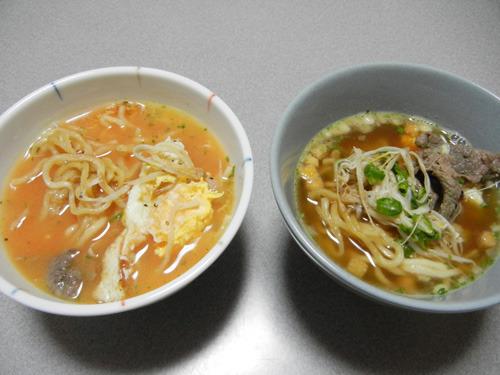 スープ麺が簡単に完成!