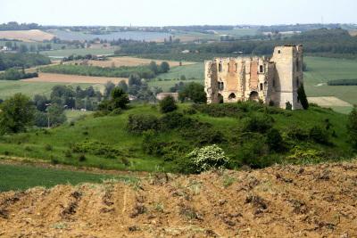 この辺りには城なんかも多い(これは廃墟だけど)