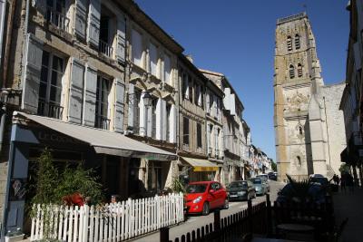 レクトゥールという町もまた、町並みが素晴らしい