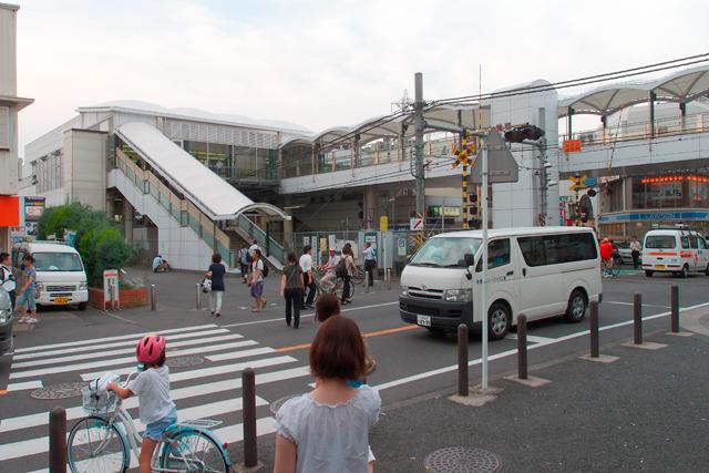じっさい、ちょっと歩いたらすぐ鹿島田駅に着いた。ここから南部線に乗れば川崎駅まではすぐだ。