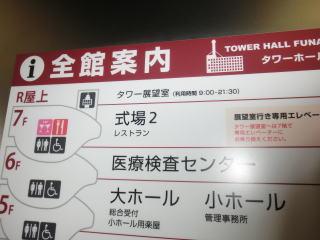 7階からは展望台行きの直通エレベーターも運行