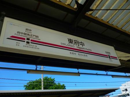 競馬場に行く路線が分岐する駅