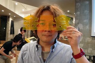 林雄司作 金星食観察メガネ