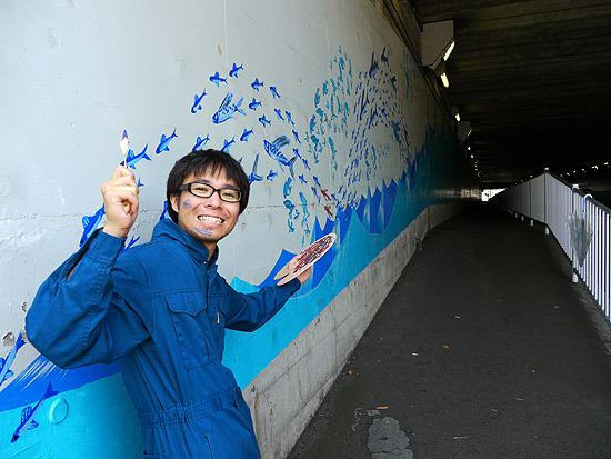 壁画完成させました!