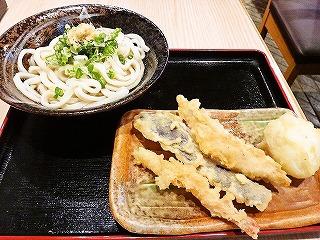 茶色い皿は天ぷらフリーダムのチケット