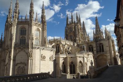 そして巨大な大聖堂が有名なブルゴス