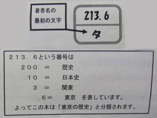 数字を見れば大体内容が分かるのか。
