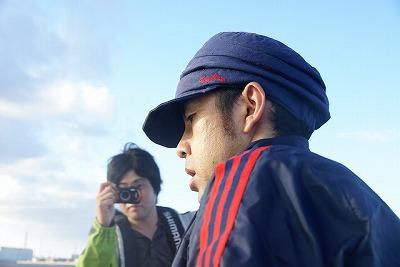 伊藤さん、必死の形相。