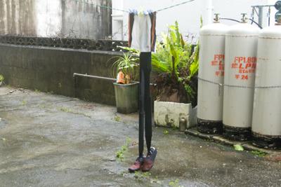 台風で歩数計が何歩記録できるか