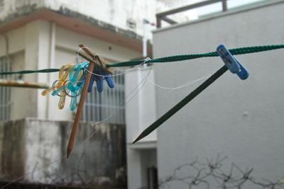台風 vs アロンアルファ