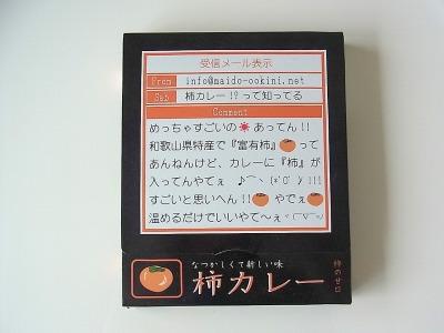 和歌山名産 富有柿カレー 750円