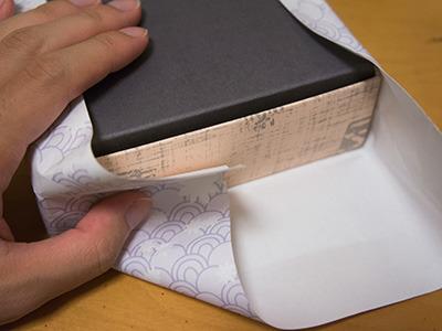 明らかに裏側の紙が足りてないけど大丈夫か。