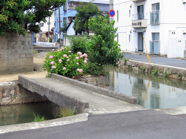 上の写真のカーブ、曲がったところにあるこのマイ橋。もらえるんなら、第一希望はこれ!
