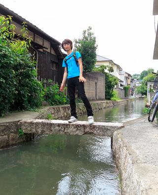 岡山の水路、ほんと楽しかった。