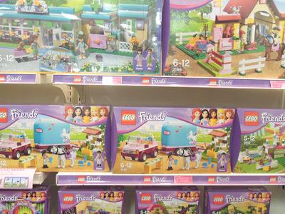 今年は全世界で女の子向けのレゴ「レゴ フレンズ」も発売されたそう。そんなことになっていたのか