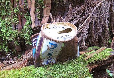 見たことがないファンタグレープの空き缶。「さちこ」って名前が書かれていた。この「さちこ」は今何歳になっているのだろう。