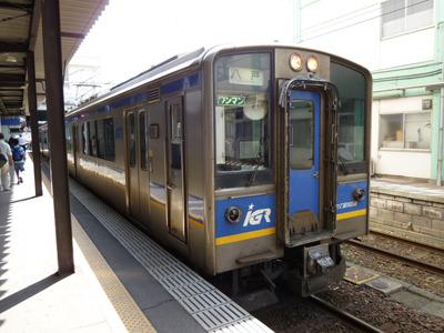 電車はいたって普通です。