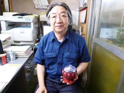 お話うかがった進藤さん。ありがとうございました!