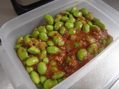 冷蔵庫で3、4日保存可能なので、余った枝豆の再利用にも最適。