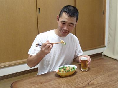 ビールに最高。焼酎もいいか。いや、日本酒もいけるな。
